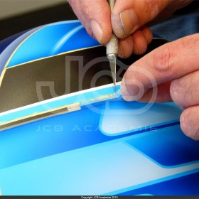 Stage aérographe casque peinture design